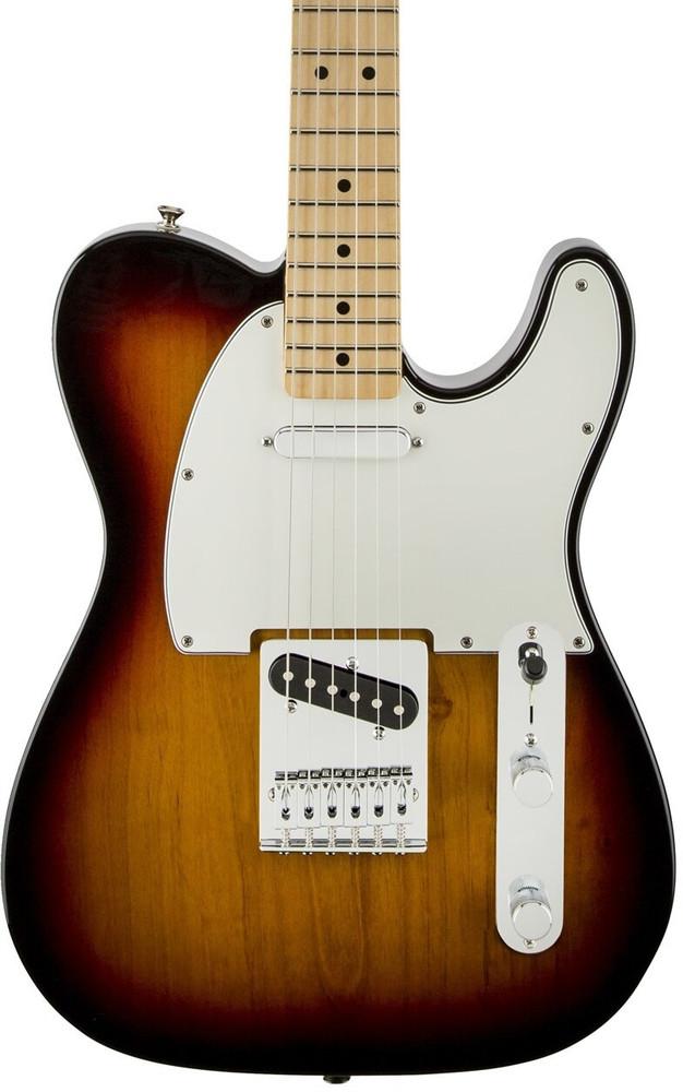 Fender Fender Standard Telecaster Brown Sunburst Maple Fingerboard