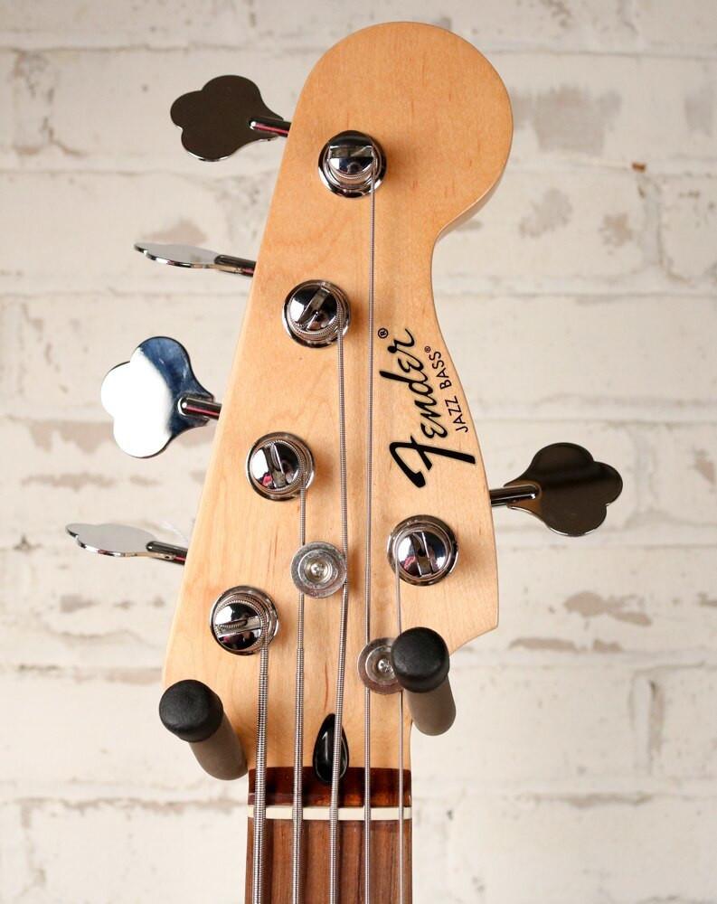 Fender Fender Black Standard 5 String Jazz Bass Rosewood Fingerboard