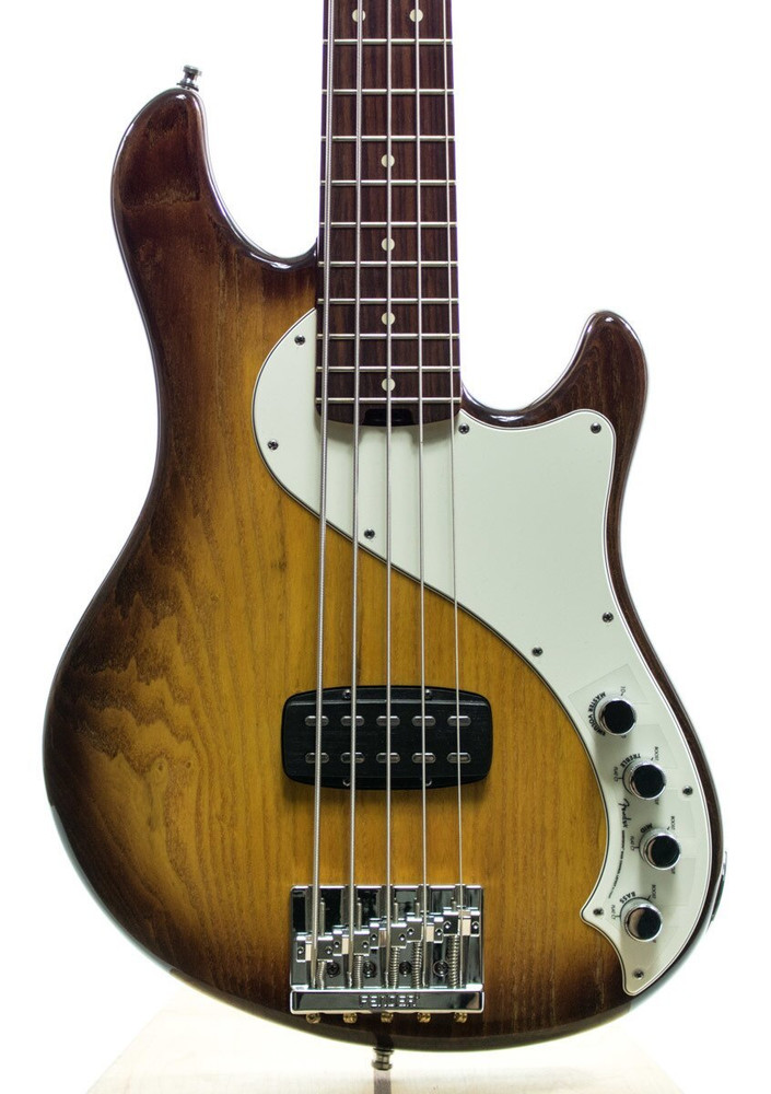 Fender Fender American Deluxe Dimension Bass V Electric Guitar Violin Burst
