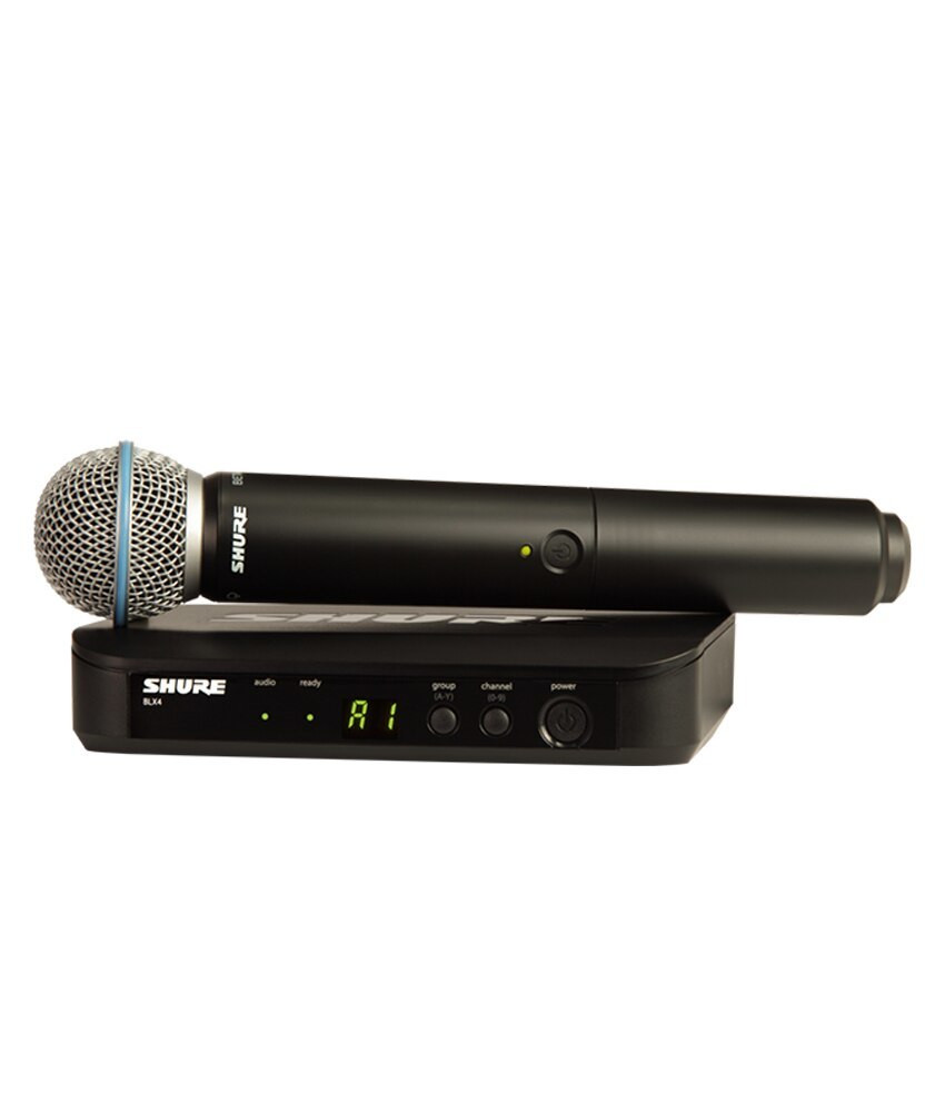 Shure Shure BLX24/B58 Wireless Vocal System with Beta 58A Handheld Microphone