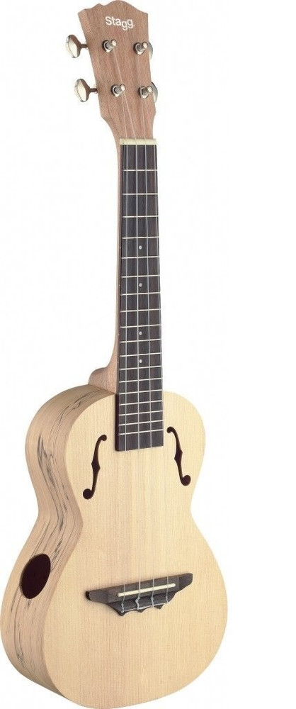 Stagg Stagg UCX-SPA-S Concert Ukulele, Spalted Maple