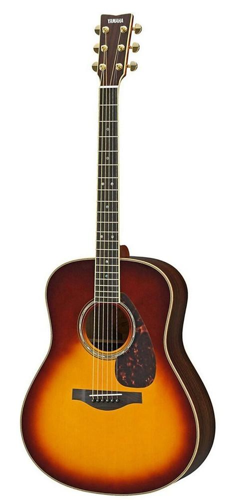 Yamaha Guitars Yamaha LL16 Brown Sunburst RBSHC Spruce/Rosewood Acoustic Guitar
