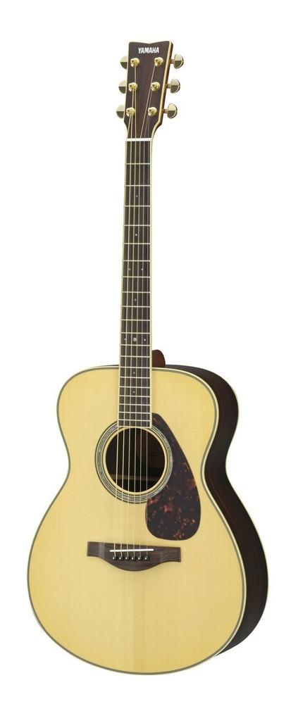 Yamaha Guitars Yamaha LS6R L Series Rosewood/Spruce Concert Acoustic-Electric Guitar Natural LN