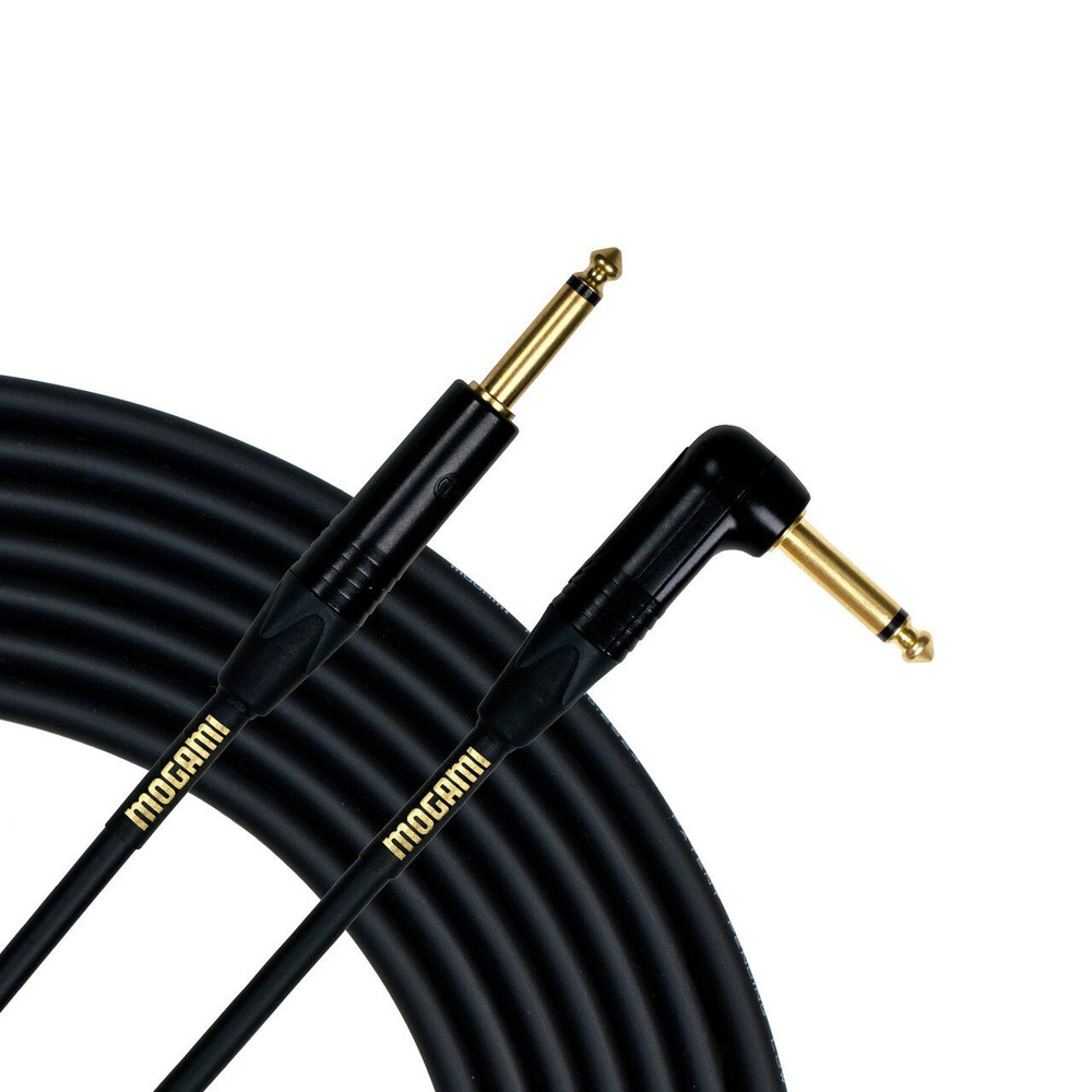 Mogami Mogami Gold Instrument 18 1/4 Male to 1/4 Right Angled Male Cable