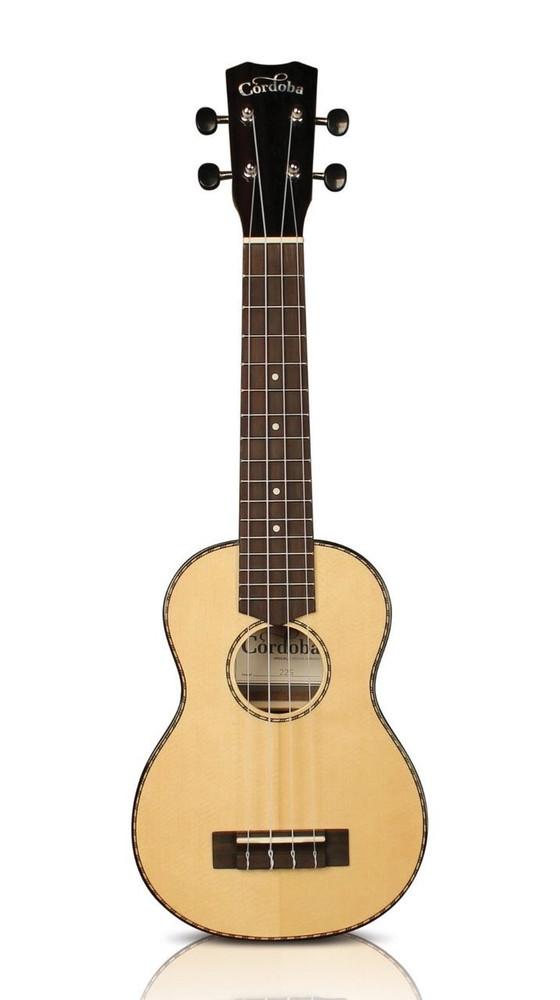 Cordoba Cordoba 22S Soprano Solid Spruce Top Rosewood Ukulele