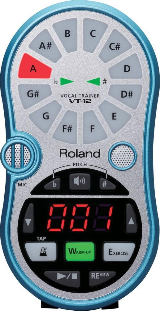 Roland Roland VT-12 Vocal Trainer - Aqua Blue