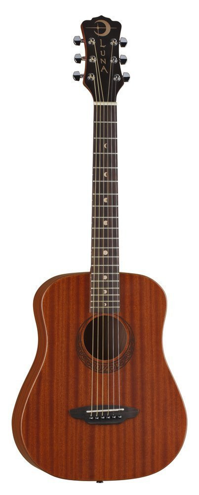 Luna Luna Safari Series Muse Mahogany 3/4-Size Travel Acoustic Guitar