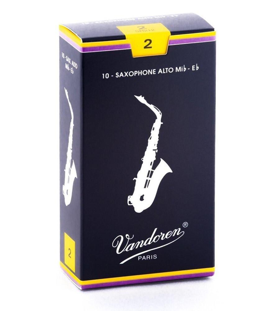 Vandoren Vandoren #2 Alto Sax Reeds 10 pack