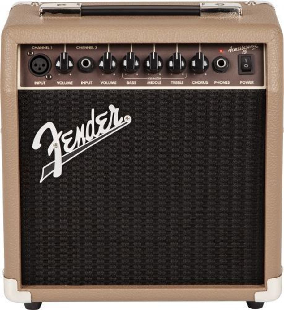 Fender Fender Acoustasonic 15w Acoustic Combo Amp