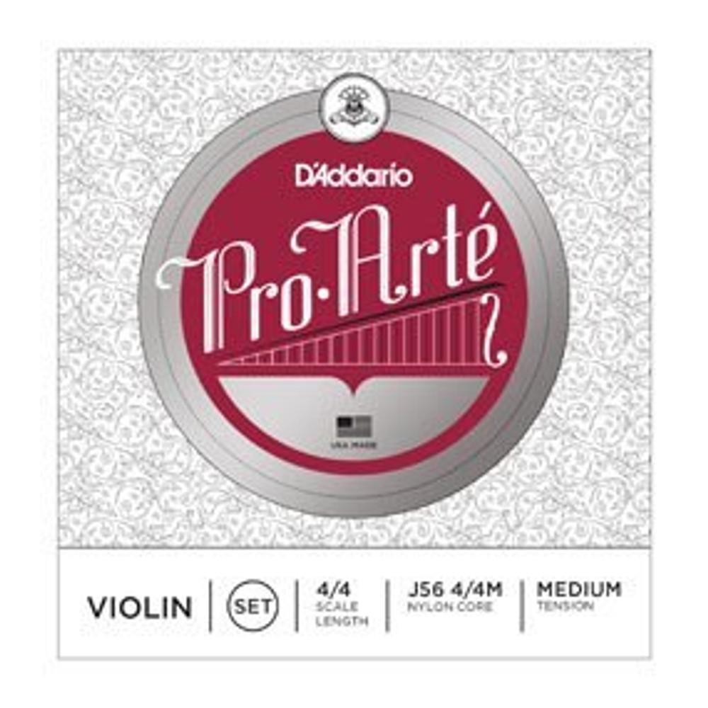 DAddario Pro-Arte 4/4 Violin String Set Medium