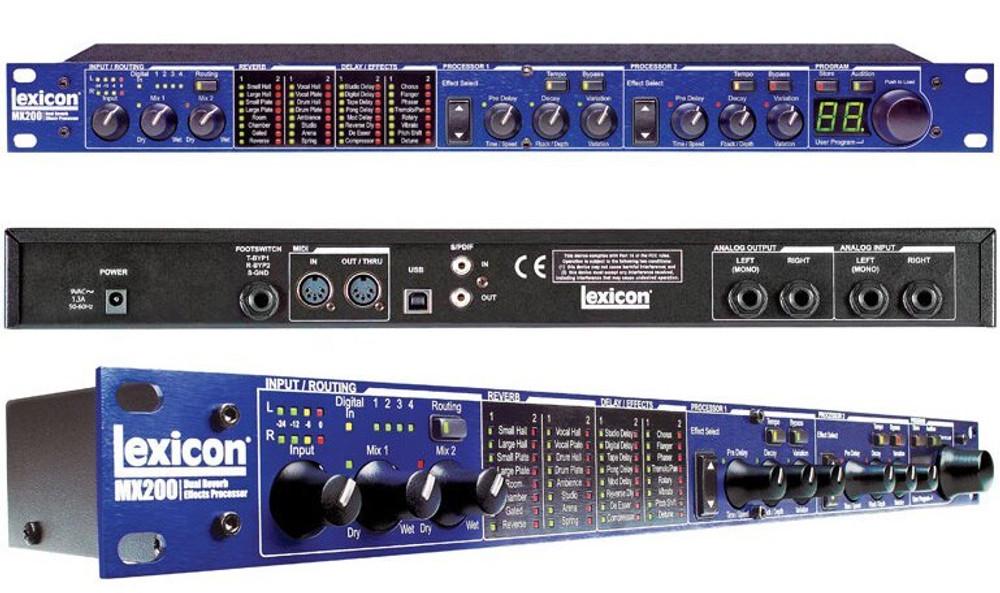 Lexicon Lexicon MX200 Dual Reverb/Effects Processor