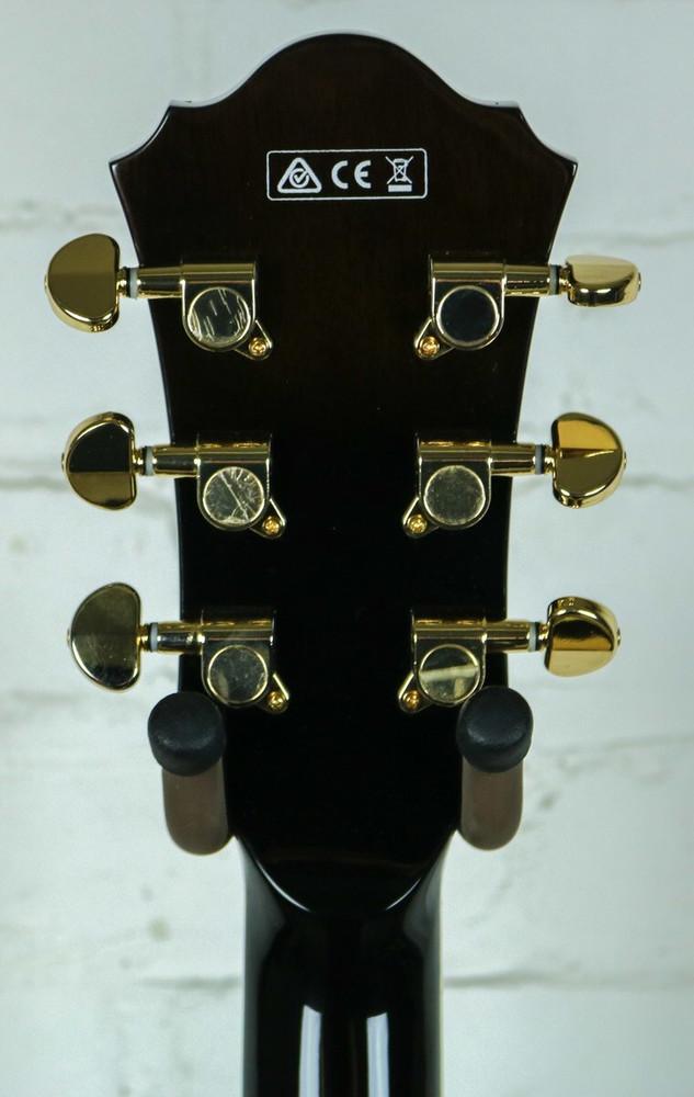 Ibanez Ibanez AM93 Semi-Hollowbody Electric Guitar Transparent Black Sunburst DEMO