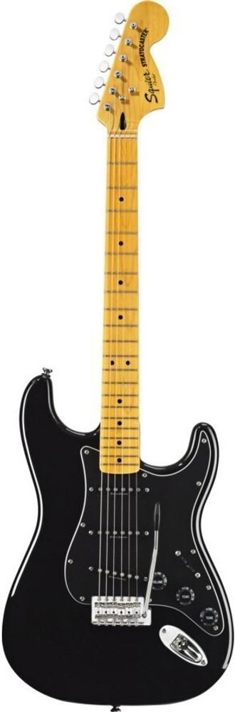 Fender Fender Squier Vintage Modified 70s Stratocaster Electric Guitar - Black