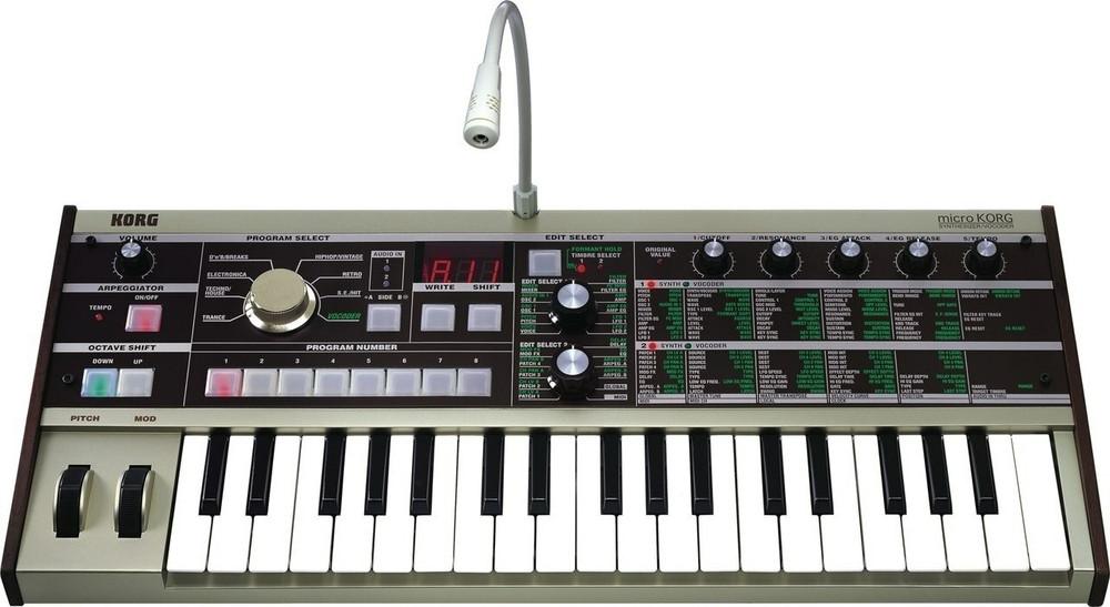 Korg Korg MicroKorg 37-Mini Key 4-Voice Synthesizer and Vocoder