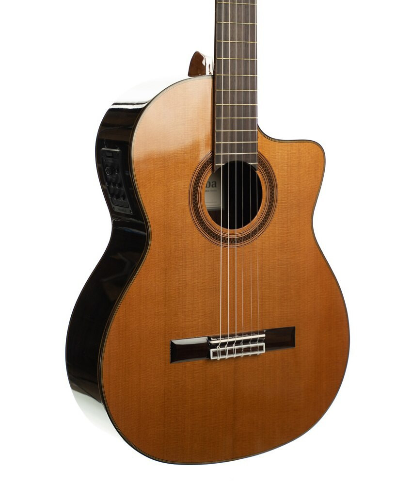 Cordoba Cordoba C7-CE CD Acoustic-Electric Classical Guitar - Canadian Red Cedar Top