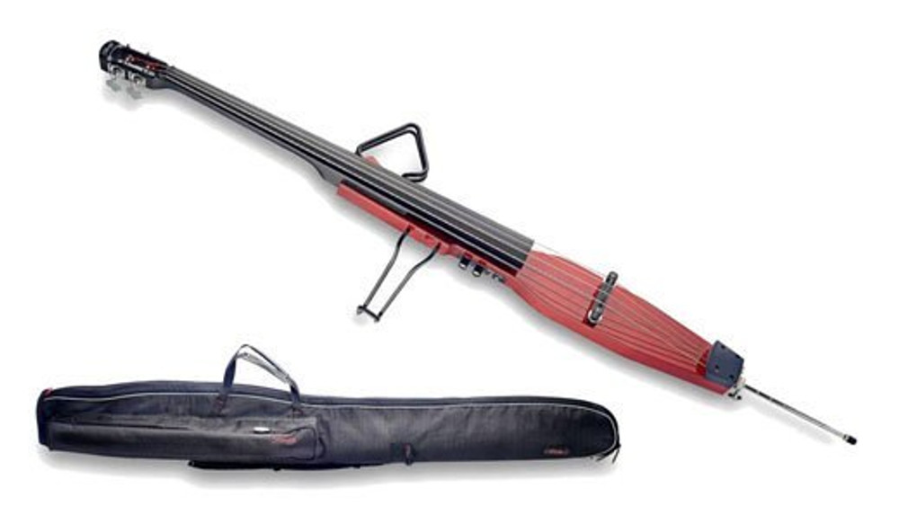 Stagg Stagg 3/4 Upright Sticks Bass Trans Red