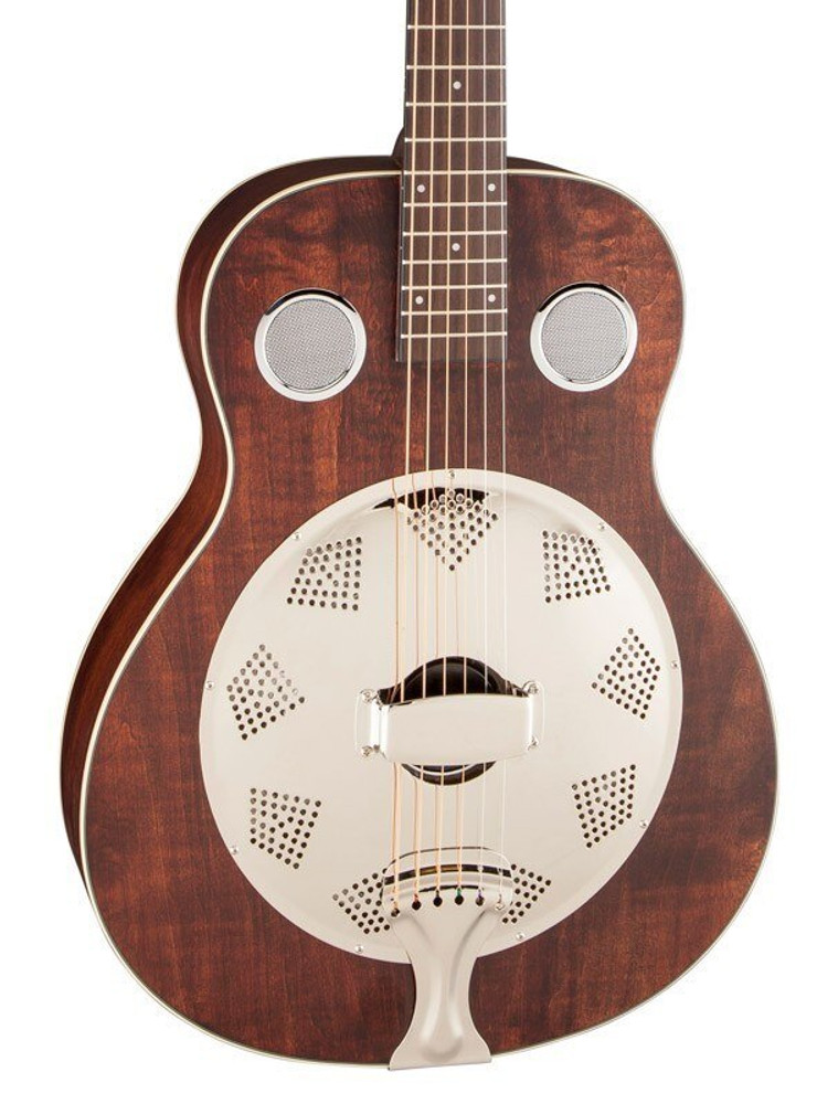 Fender Acoustic Guitars Fender Brown Stain Derby Resonator