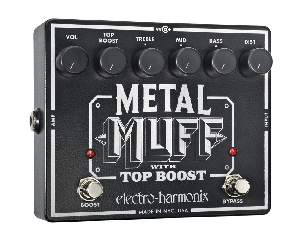 Electro-Harmonix Electro-Harmonix Metal Muff Pedal W/Top Boost Disortion