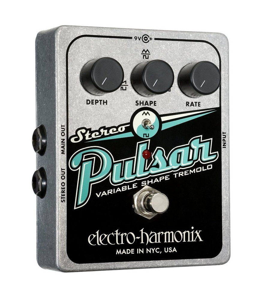 Electro-Harmonix Electro-Harmonix Stereo Pulsar Tremolo Guitar Pedal