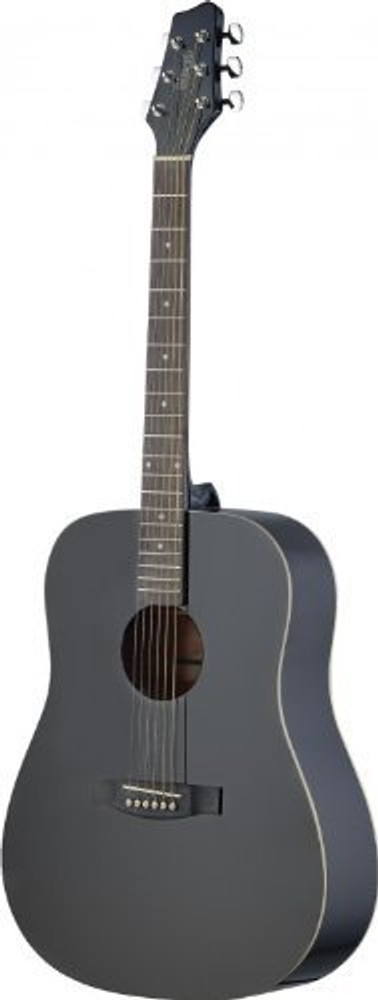 Stagg Stagg SA30D-BK LH Dreadnought Acoustic Guitar