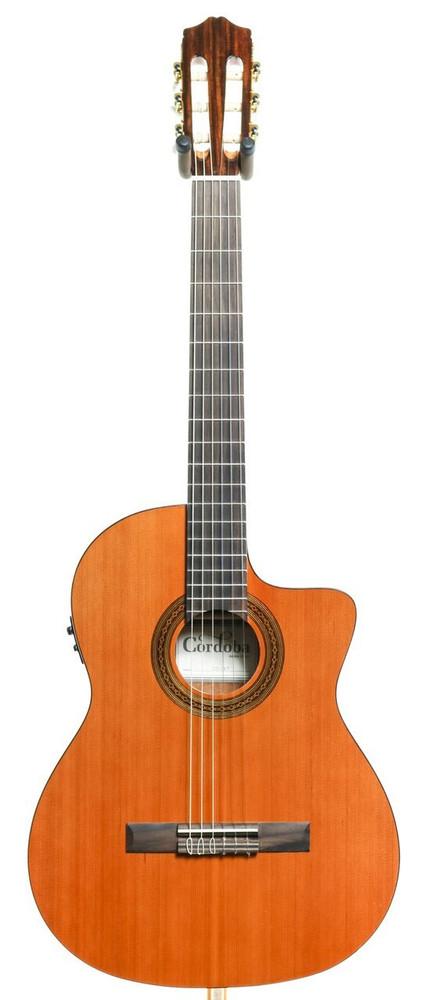 Cordoba Cordoba C5-CET Thinbody Cutaway Acoustic-Electric Classical Guitar