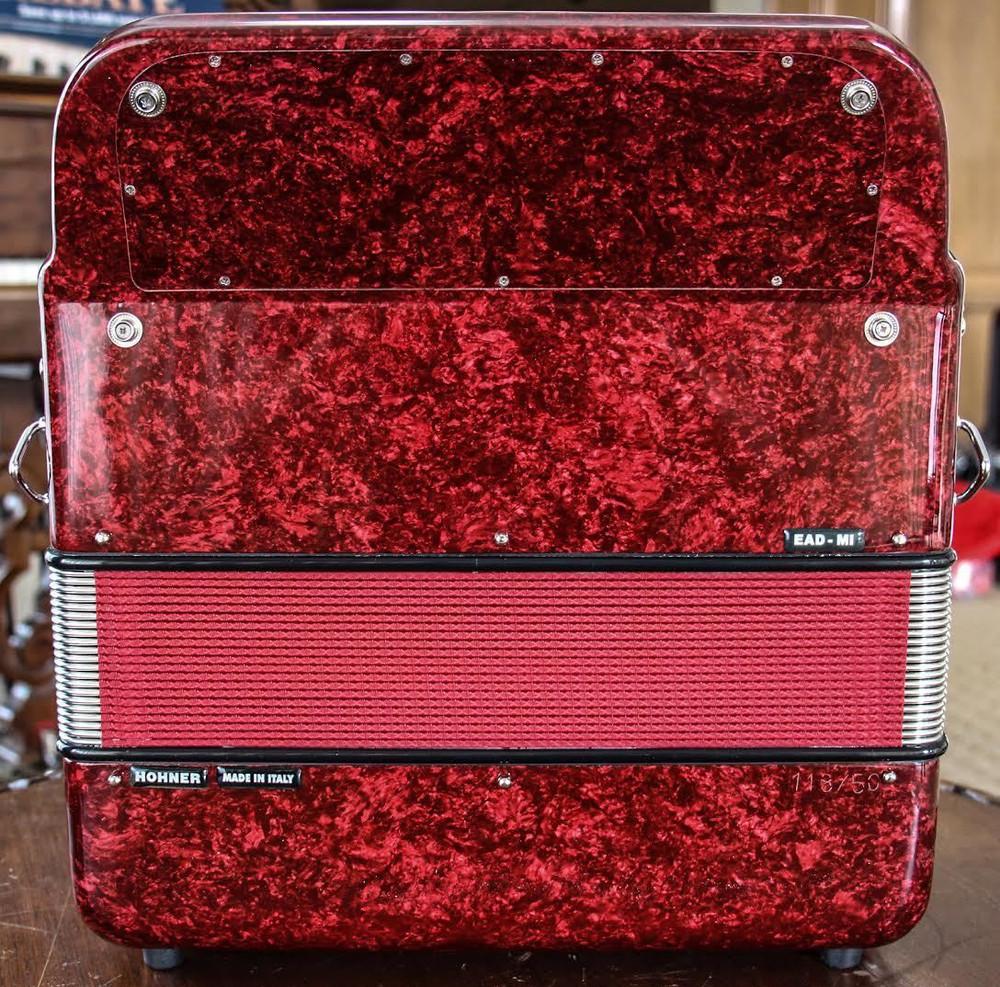Hohner Hohner Anacleto Rey Del Norte EAD Red