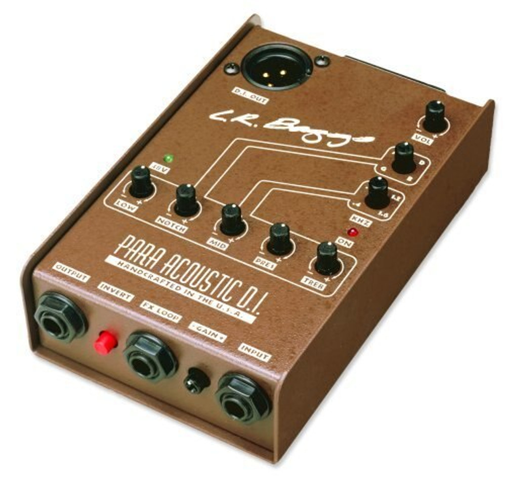 LR Baggs LR Baggs Para ID Acoustic Direct Box and Preamp with 5-band EQ