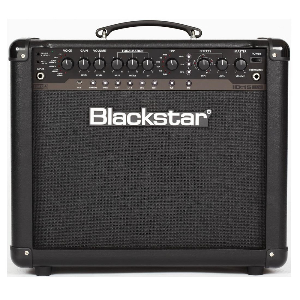 Blackstar Blacstar ID15 1x10 15W Programmable Combo Amp w/Effects