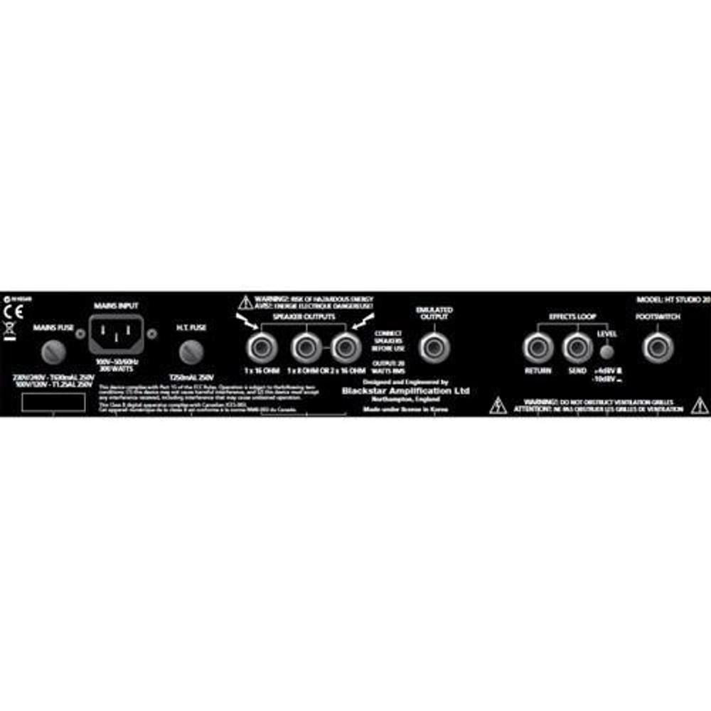 Blackstar Blackstar HTSTUD20C HT Studio 20 1x12 20-Watt Combo Amp