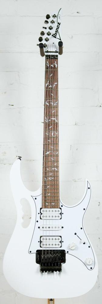 Ibanez Ibanez JEMJR Steve Vai Signature Electric Guitar White