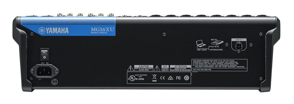 Yamaha Yamaha MG16XU 16-Channel Analog Mixer with Built-In FX