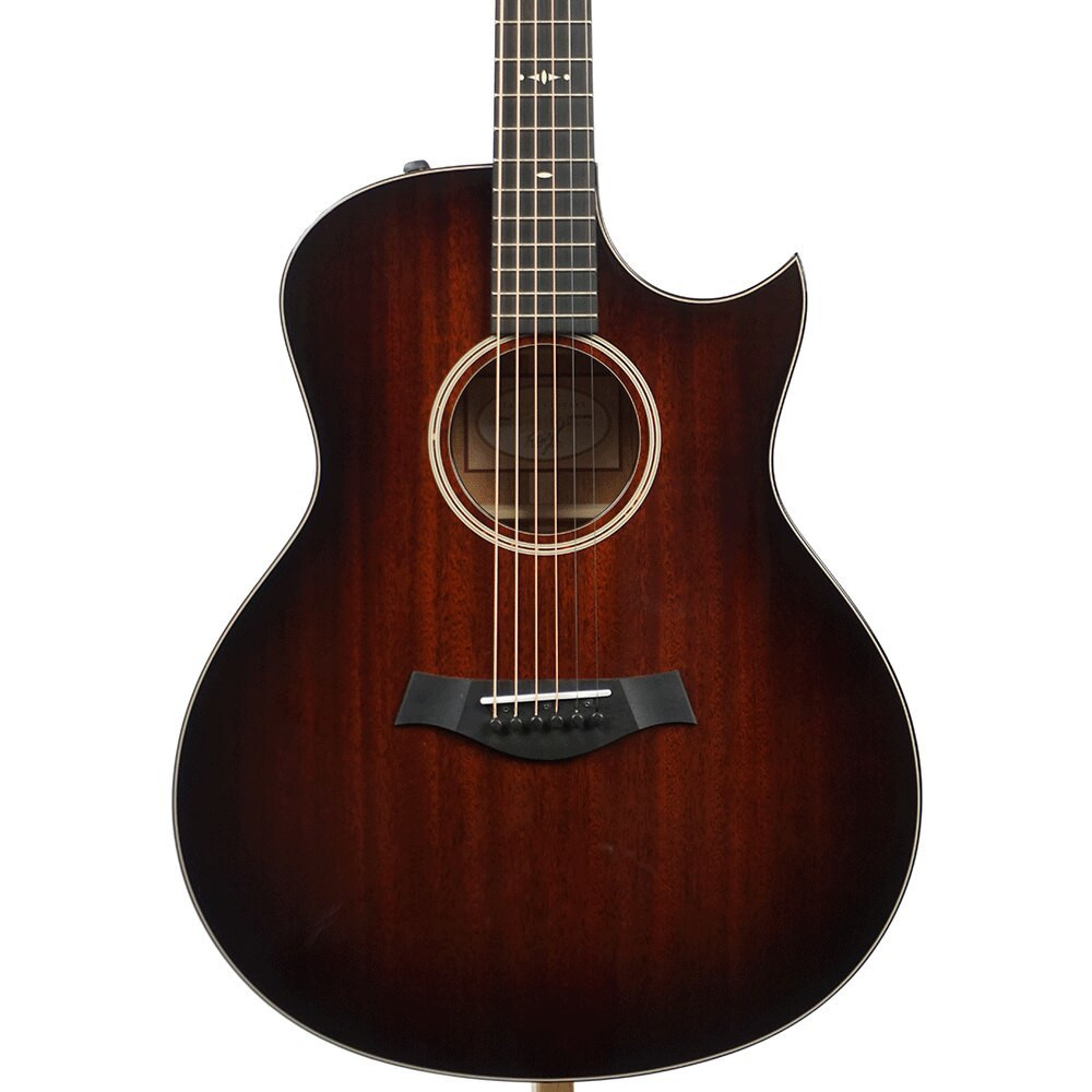 Taylor Guitars Pre-Owned Taylor 526ce Mahogany Grand Symphony Acoustic/Electric - Shaded Edge Burst w/ Florentine Cutaway