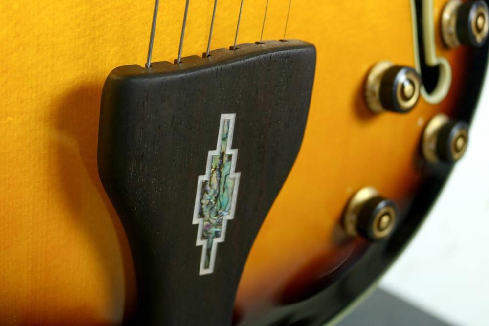 Ibanez Ibanez LGB30 George Benson Signature Hollow Electric Guitar Vintage Yellow Sunburst DEMO