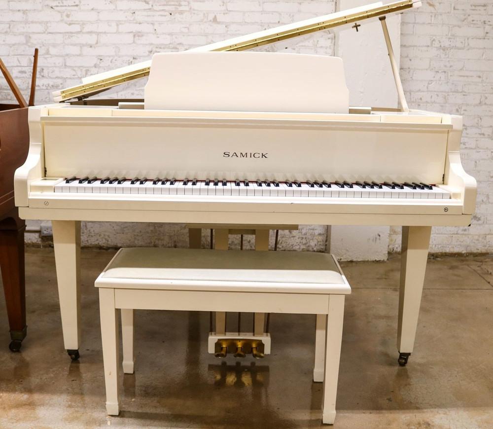 Samick Samick SG140A Baby Grand Piano w/ Bench