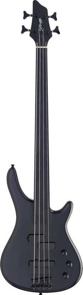 Stagg Stagg BC300FLBK Black Fretless 4-String Electric Bass