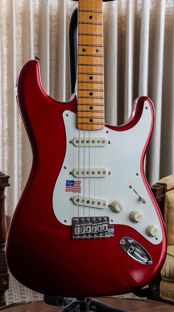 Fender Fender Eric Johnson Stratocaster - Candy Apple Red