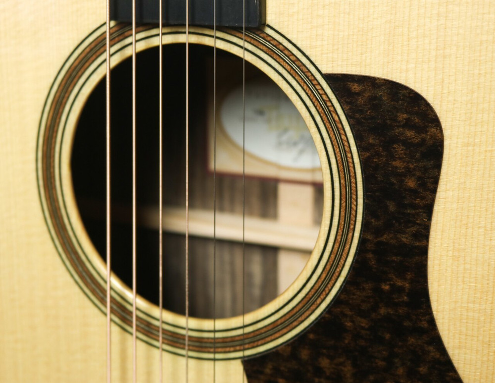Taylor Guitars Taylor 710E Lutz Spruce/Indian Rosewood Dreadnought Acoustic-Electric Guitar