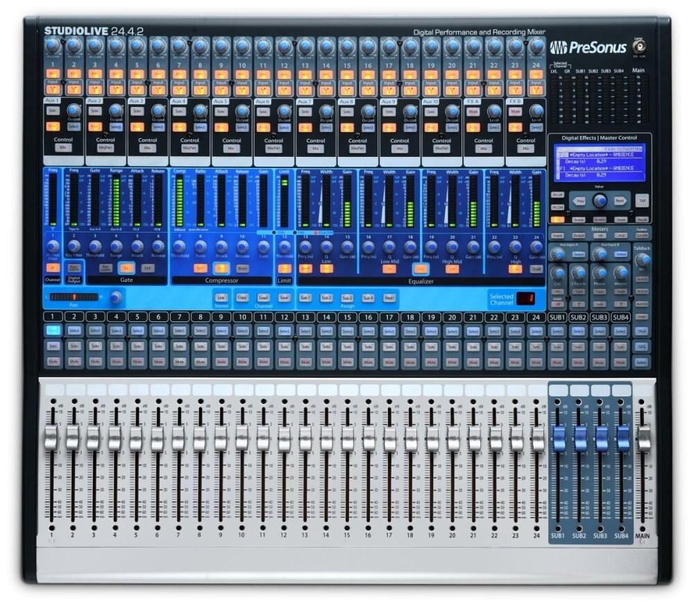 PreSonus PreSonus SLM2442Ai Studio Live 24.4 2AI Digital Mixer