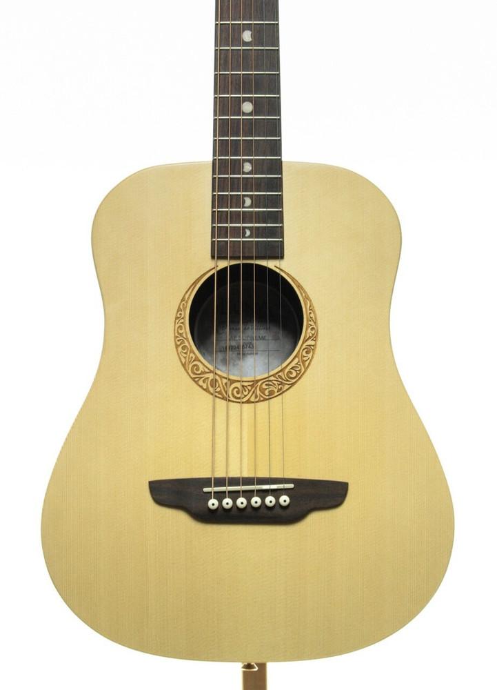Luna Luna Safari Supreme 3/4 Travel Guitar