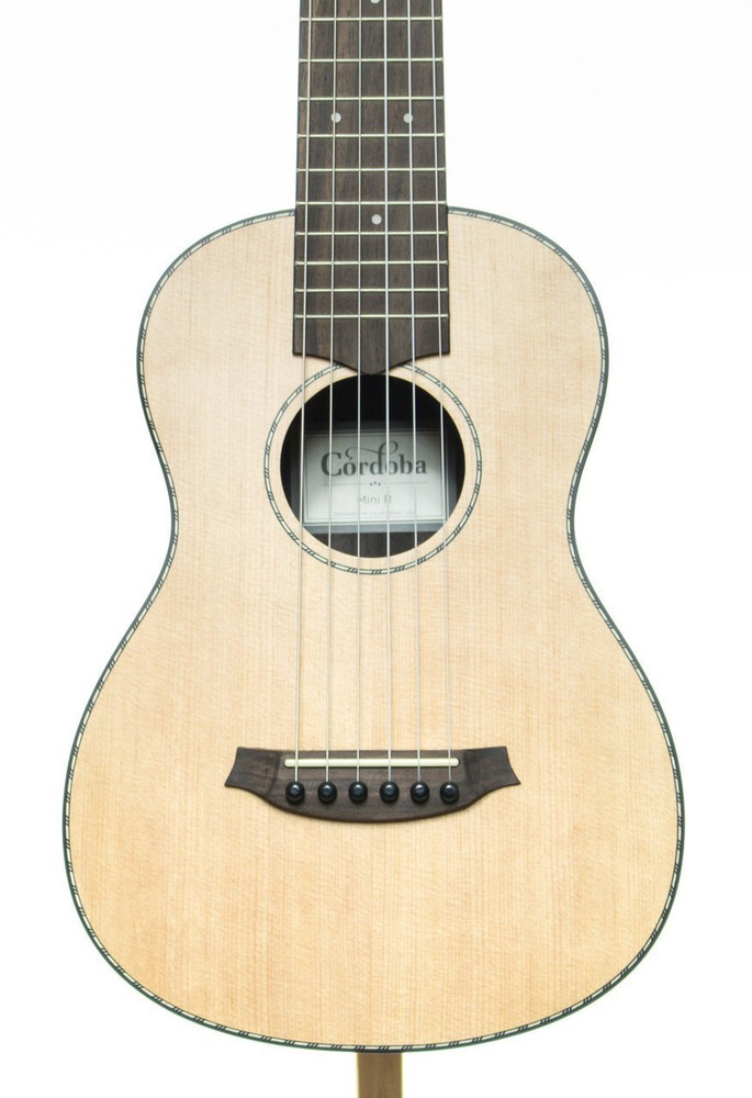 Cordoba Cordoba Mini Rosewood Nylon String Acoustic Guitar Natural