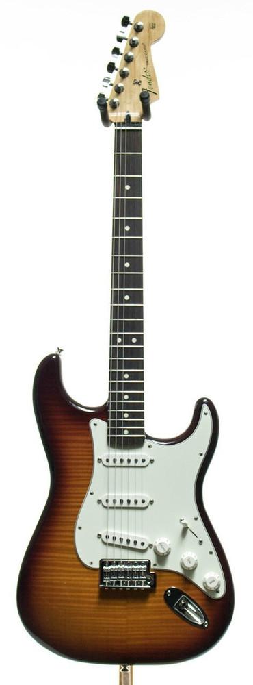 Fender Fender Standard Stratocaster Plus Top Electric Guitar Tobacco Sunburst