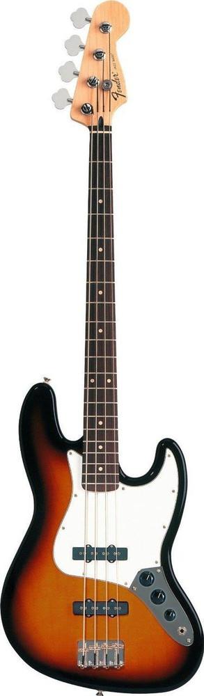 Fender Fender Standard Jazz Bass Brown Sunburst Rosewood Fingerboard