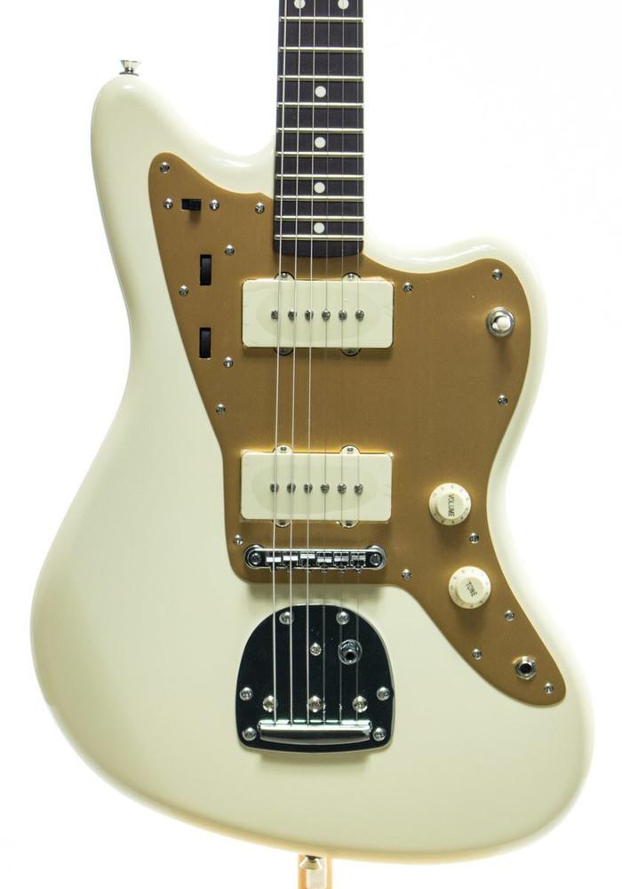 Squier Squier J Mascis Jazzmaster Electric Guitar Vintage White