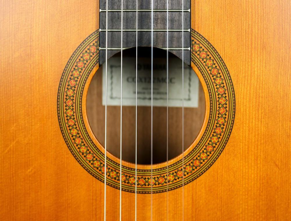 Yamaha Yamaha CGX122MCC Cedar Top Nato Back and Sides Cutaway A/E Classical Guitar