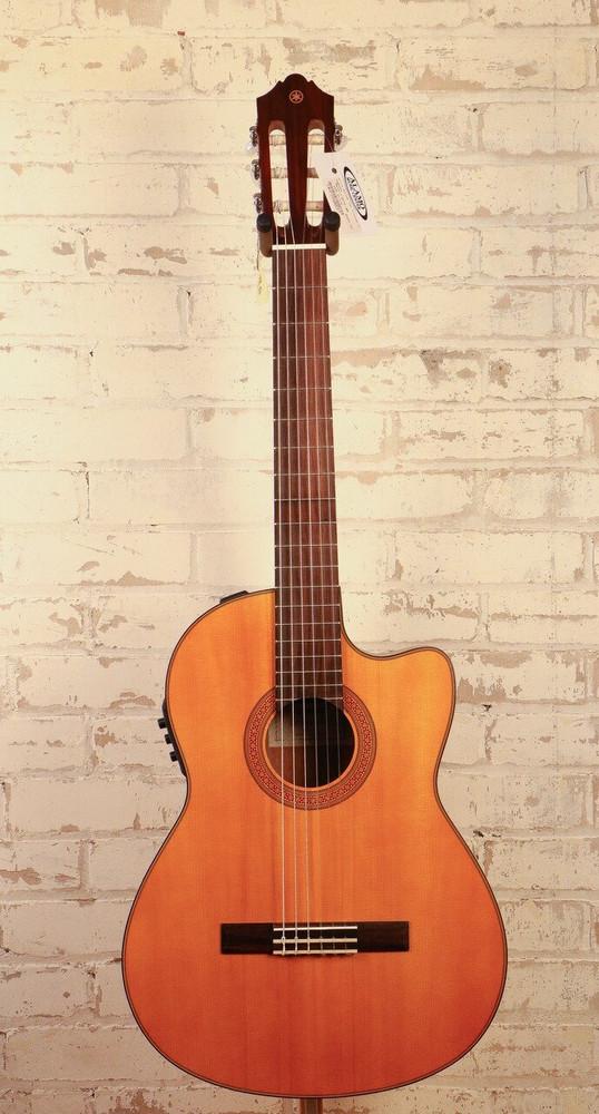 Yamaha Yamaha CGX122MSC Solid Spruce Top Cutaway A/E Classical CGX Series Guitar