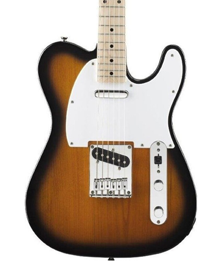 Fender Squier by Fender Affinity Telecaster Maple Fingerboard, 2-Tone Sunburst