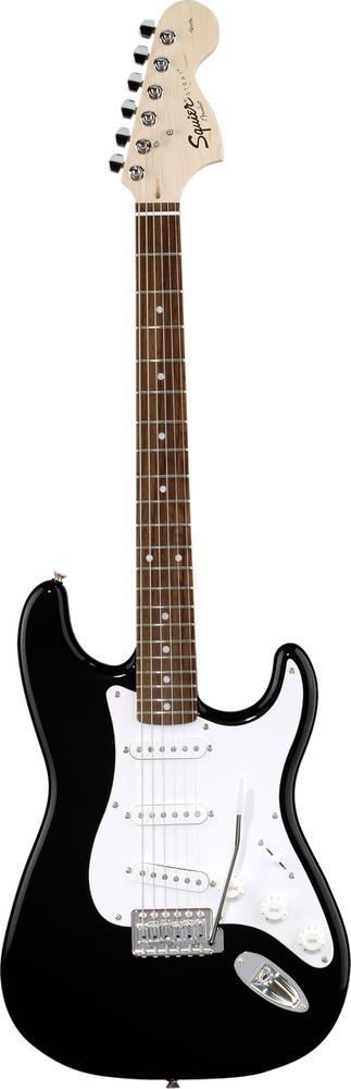 Fender Squier Affinity Black Stratocaster Rosewood Fretboard