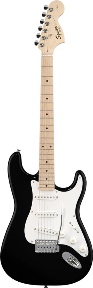 Fender Squier Affinity Black Strat Maple Fretboard
