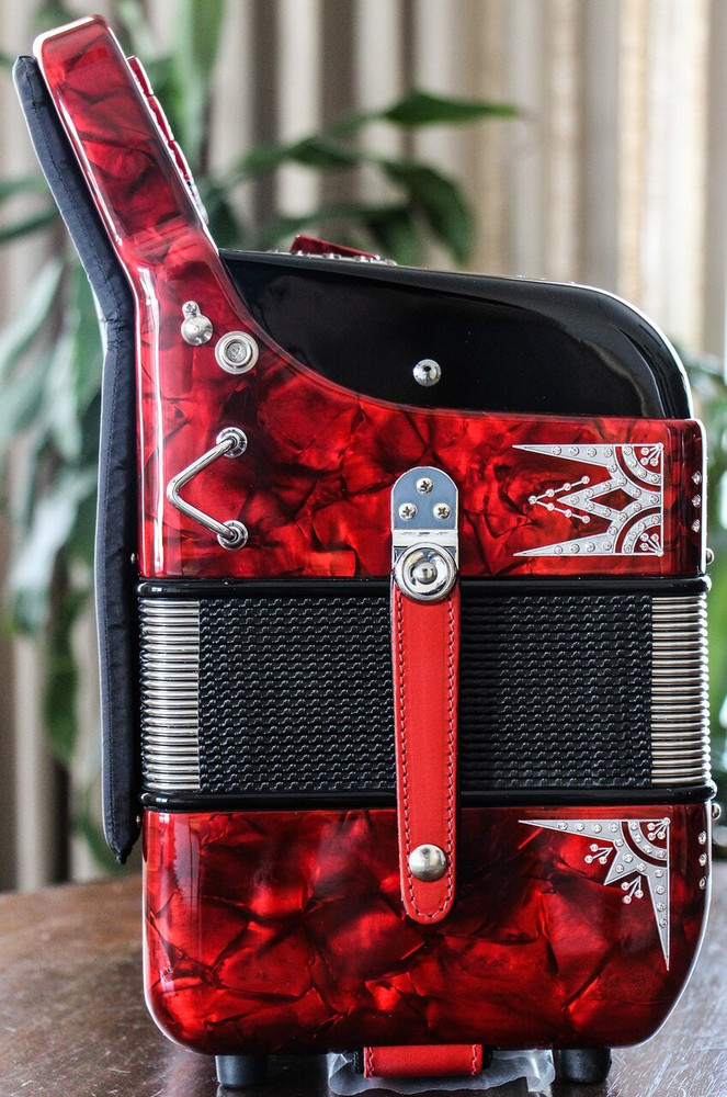 Hohner Hohner Anacleto Rey Del Norte Black and Red