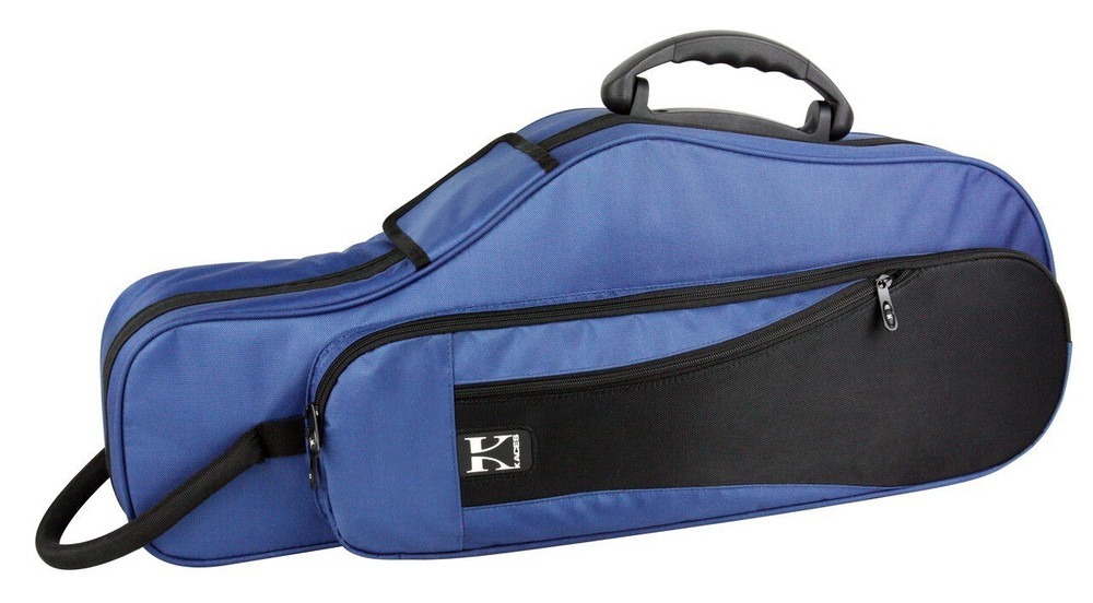 Kaces Kaces Lightweight Hardshell Alto Sax Case, Dark Blue KBFB-AS2